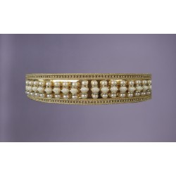 KAFTAN BELT PERLY GOLD