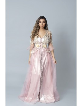 CAFTAN PRINCESSE ROSE