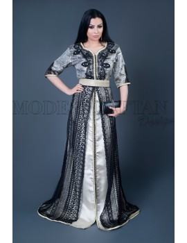 Moroccan dress online for ladies, brocard and lace