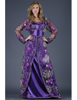 KAFTAN DRESS AMARANTHE