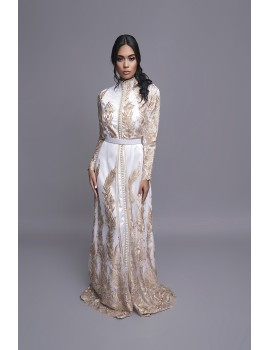 CAFTAN DAKOTA BLANCO