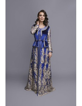 CAFTAN MELODY BLUE