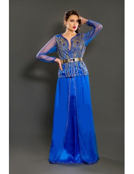 Modern oriental outfit with jacket and skirt for bold and independent women